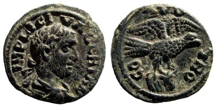 Ancient Coins - Troas, Alexandreia. Valerian I. 253-260 AD. AE 20 (4.87 gm). Bellinger A439 (same dies as illustrated coin)