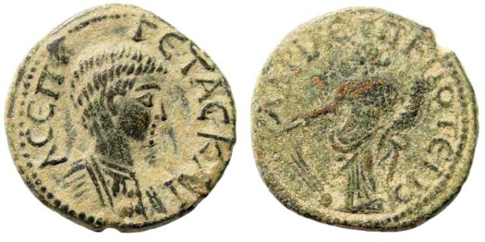 Ancient Coins - Phrygia, Hadrianopolis, Geta as Caesar, 198-217 AD, AE 22mm (6.62 gm). SNG Tübingen 4017