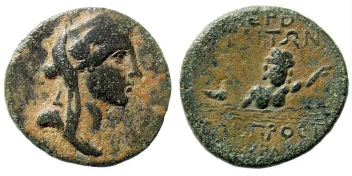 Ancient Coins - Kilikia, Hierapolis. 2nd-1st century BC. AE 23mm (8.24 gm, 12h). SNG Paris 2218; SNG von Aulock 5571