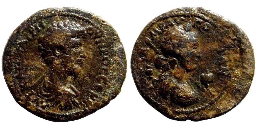 Ancient Coins - Kilikia, Augusta. Lucius Verus, 161-169 AD. AE 26mm (10.18 gm). 162 AD. Ziegler 868. Rare