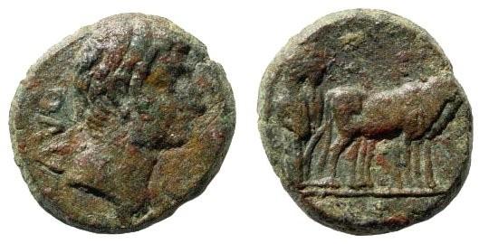 Ancient Coins - Mysia, Parium. Augustus. 27 BC – 14 AD. AE 19mm (4.78 gm). SNG France 1441