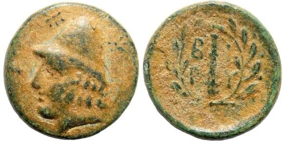 Ancient Coins - Troas, Birytis. Circa 300 BC. AE 18mm (5.08 gm). BMC Troas pg. 40, 1; SNG Copenhagen 247