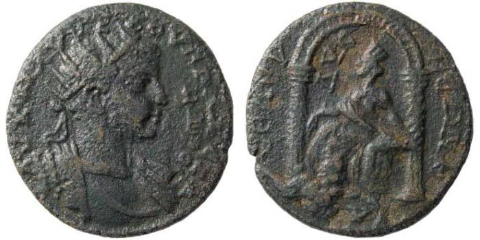 Ancient Coins - Cilicia, Seleucia ad Calycadnum. Severus Alexander. 222-235 AD. AE 29 mm (10.38 gm). SNG Levante Suppl. 196 (same dies)