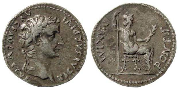 Ancient Coins - Copy/ Replica. Tiberius, Tribute Penny; struck by Dutch Royal Mint, dated 1919