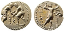 Ancient Coins - Pisidia, Selge. Circa 325-250 BC. AR Stater (10.22 gm, 22mm, 12h). SNG BN 1941-3