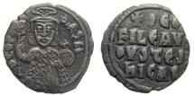 Ancient Coins - Theophilus, 826-842. AE Follis (6.16 gm, 27mm). Constantinople mint. Struck 830/1-842. Sear 1667