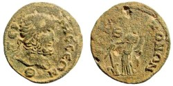 Ancient Coins - Pisidia, Termessos. 3rd century AD. AE 28mm (11.01 gm). SNG BN Paris 2197 (same dies)