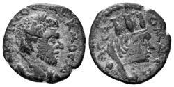 Ancient Coins - Mesopotamia, Edessa. Macrinus, 217-218 AD. AE 17mm (2.74 gm). BMC 49 var. (Legend)