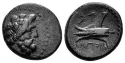 Ancient Coins - Phoenicia, Arados. Circa 206/5-52/1 BC. AE 16mm (3.72 gm), CY 116 (144/3 BC). DCA 767