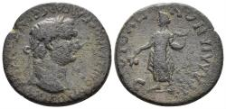 Ancient Coins - Lydia, Tralleis. Domitian. 81-96 AD. AE 26mm (9.62 gm). RPC II 1096
