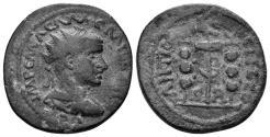Ancient Coins - Pisidia, Antiocheia. Aemilian, 253. AE 23mm (6.63 gm). SNG PfPs 141 (same obverse die)