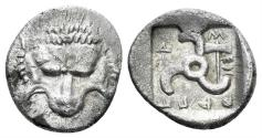 Ancient Coins - Lykian Dynasts. Mithrapata. Circa 390-370 BC. AR Sixth Stater (1.31 gm, 13mm). Uncertain mint. CNG Elec. Auc. 491, lot 114 (same dies)