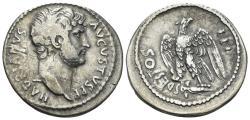 Ancient Coins - Hadrian. 117-138 AD. AR Cistophoric Tetradrachm (10.21 gm, ). Smyrna mint. Struck after 128 AD. RIC II 516