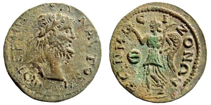 Ancient Coins - Pisidia, Termessos. 3rd century AD. AE 30mm (11.60 gm). SNG Copenhagen 326 (same dies)