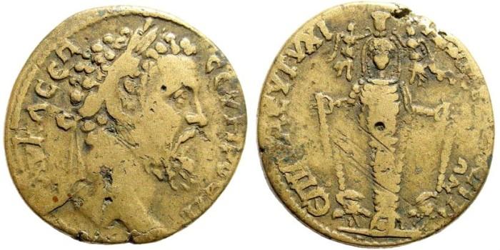 Ancient Coins - Ionia, Magnesia. Septimius Severus, 193-211 AD. AE 30mm (16.93 gm). Unpublished