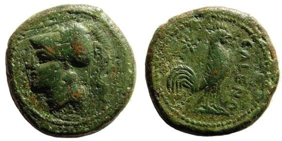 Ancient Coins - Campania, Cales. Circa 276-260, AE 20mm (6.33 gm, 20mm). SNG Copenhagen 323; SNG ANS 193