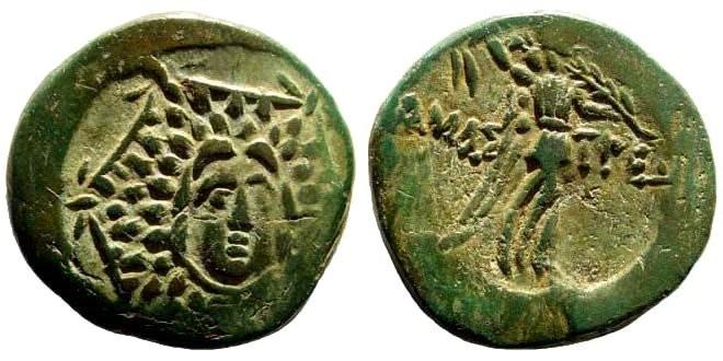 Ancient Coins - Paphlagonia, Amastris. 1st century BC. AE 22mm (7.18 gm). SNG BMC Black Sea 1316