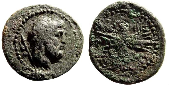 Ancient Coins - Pisidia, Termessos. 1st century BC. AE 25mm (7.49 gm, 25mm, 12h). France 2090; SNG von Aulock 4455 (Lycia)