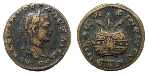 Ancient Coins - Cappadocia, Caesarea, Alexander Severus, 222-235 AD, AE 20.8 mm (7.67 gm.). 224 AD. Sydemham 352