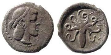 Ancient Coins - Sicily, Syracuse, Deinomenid Tyranny, 485-466 BC