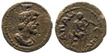 Ancient Coins - Phrygia, Apameia. Time of Commodus, 177-192 AD. AE 17mm (3.46 gm). BMC, Phrygia, p. 91. 130