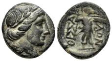 Ancient Coins - Thessalian League. 2nd half of the 2nd century BC. AE 18mm (5.97 gm). BCD Thessaly II, 900.3