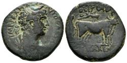 Ancient Coins - Judaea, Caesarea. Hadrian. 117-138 AD. AE 30mm (19.46 gm). Rosenberger 24; Hendin 836