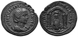 Ancient Coins - Mesopotamia, Nisibis. Otacilia Severa. Augusta, 244-249 AD. AE 26mm (8.99 gm). BMC 27-32