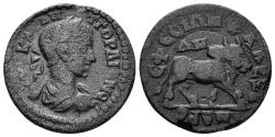 Ancient Coins - Ionia, Ephesos. Gordian III. 238-244 AD. AE 22mm (5.73 gm). Homonia with Alexandria Troas. RPC VII.1 417.3