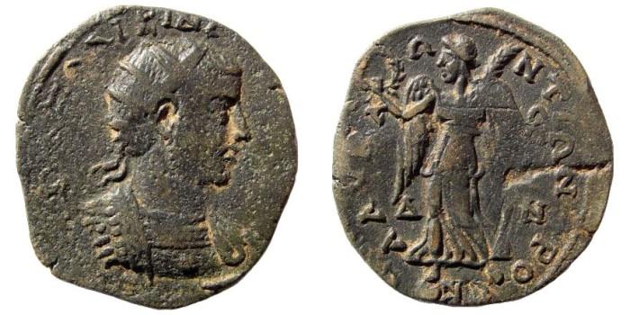 Ancient Coins - Cilicia, Seleucia ad Calycadnum. Gallienus. 253-268 AD. AE 32mm (10.88 gm). SNG Levante 787 (same dies)