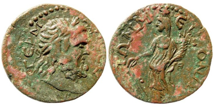 Ancient Coins - Pisidia, Termessos. Circa mid 3rd century AD. AE 30mm (12.38 gm). Martini-Nollé 16, A26