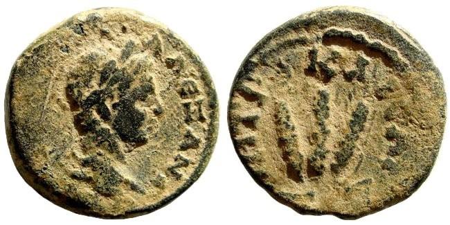 Ancient Coins - Kappadokia, Caesarea. Severus Alexander, 222-235 AD. AE 22mm (7.57 gm). Struck, 225 AD. Sydenham 558; BMC 309