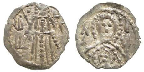 Ancient Coins - Bulgaria, Ivan Shishman. 1371-1395 AD. AR Half Grosh  (0.58 gm). Youroukova 125