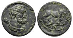 Ancient Coins - Lydia. Magnesia ad Sipylos . Imperial Times, 3rd Century AD. AE 13mm. (1.61 gm). SNG Righetti 1041
