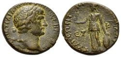Ancient Coins - Cappadocia, Tyana. Hadrian. 117-138 AD. AE 19mm (6.21 gm). Dated RY 21 (136/7 AD). SNG von Aulock -