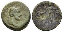 Ancient Coins - Kilikia. Flaviopolis-Flavias. Antoninus Pius, 138-161 AD. AE Hemiassarion (4.63 gm, 16mm). Dated CY 80 (155/6 AD). RPC IV online 11686