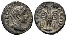 Ancient Coins - Phrygia, Philomelion. Alexander Severus. 222-235 AD. AE 17mm (2.22 gm). BMC Phrygia, pg. 337, #21