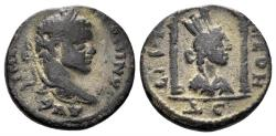 Ancient Coins - Seleucis and Pieria, Laodicea ad Mare. Elagabalus. 218-222 AD. AE 17mm (3.58 gm). SNG Copenhagen 374