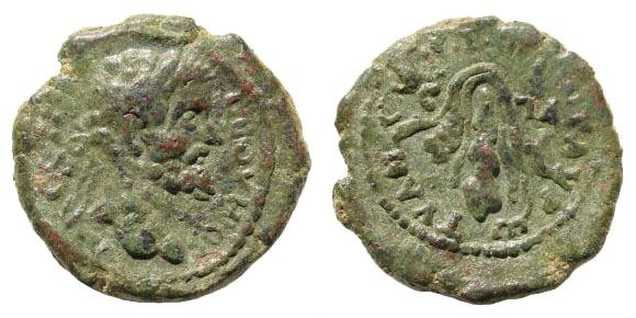 Ancient Coins - Cappadocia, Tyana. Septimius Severus. 193-211 AD. AE 21mm (6.16 gm). Unpublished (?)