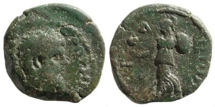 Ancient Coins - Pamphylia, Side. Lucius Verus. 161-169 AD. AE 18mm (4.12 gm). SNG PFPS 675