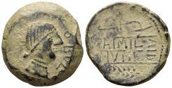 Ancient Coins - Spain, Obulco. Circa 150 BC. AE As (18.07 gm, 30mm). SNG BM 2, Spain 1410