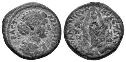 Ancient Coins - Lydien. Hypaipa. Crispina, died 192 AD. AE 23mm (8.79 gm). Circa 180 AD. RPC online 1290