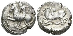 Ancient Coins - Kilikia, Kelenderis. Circa 410-375 BC. AR Stater (10.78 gm, 21mm). SNG France 51