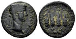 Ancient Coins - Lydia, Philadelphia. Claudius, 41-54 AD. AE 18mm (5.34 gm). RPC I 3039