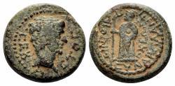 Ancient Coins - Karia, Antiochia ad Maeandrum. Augustus. 27 BC-14 AD. AE 16mm (3.44 gm). RPC I 2834