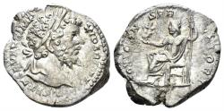 Ancient Coins - Septimius Severus. 193-211 AD. AR Denarius (3.66 gm, 19mm). Rome mint. Struck 198-200 AD. RIC IV 130