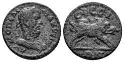 Ancient Coins - Ionia, Ephesos. Macrinus. 217-218 AD. AE 17mm (3.01 gm). SNG Copenhagen 429