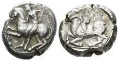 Ancient Coins - Kilikia, Kelenderis. Circa 410-375 BC. AR Stater (10.94 gm, 20mm). SNG France 51