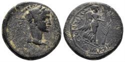 Ancient Coins - Karia, Antiochia ad Maeandrum. Claudius. 41-54 AD. AE 19mm (5.60 gm). RPC I 2836