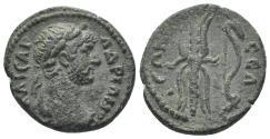 Ancient Coins - Pisidia, Selge. Hadrian. 117-138 AD. AE 20mm (4.93 gm). RPC III 2820